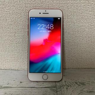 アイフォーン(iPhone)のiPhone 7 Red 256 GB au SIMフリー 解除済み(スマートフォン本体)