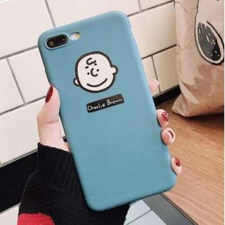 グリーン☆チャーリーブラウン スヌーピー iphoneケース(iPhoneケース)