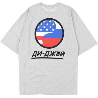 gosha rubchinskiy ゴーシャラブチンスキー Tシャツ dj(Tシャツ/カットソー(半袖/袖なし))