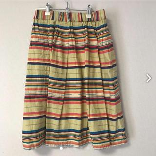 チチカカ(titicaca)の【美品】チチカカ スカート(ひざ丈スカート)