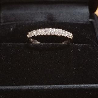 アーカー(AHKAH)のダイヤ エタニティ リング k18 ゴールド(リング(指輪))