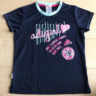 アディダス(adidas)のアディダス  トレーニングシャツ 女の子 140 プラクティスシャツ(Tシャツ/カットソー)