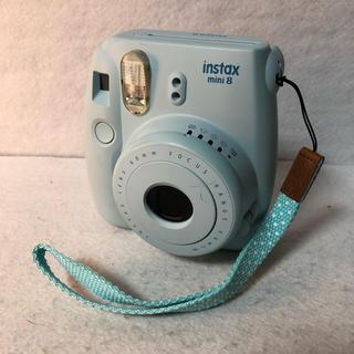 富士フイルム - FUJIFILM インスタントカメラ チェキ instax mini 8 ブルー