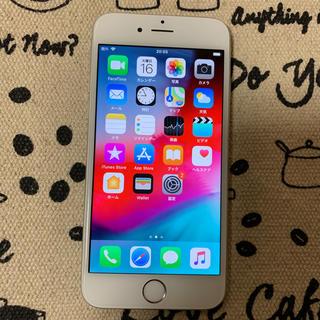 アップル(Apple)のSoftBank iPhone6 128GB シルバー(スマートフォン本体)