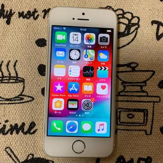 Apple - SoftBank iPhone SE 64GB ゴールド