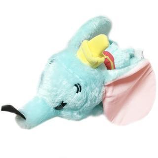ディズニー(Disney)のきゅーと&きゅーと ダンボ 寝そべり ぬいぐるみ 約34cm★羽根 魔法の羽 象(ぬいぐるみ)