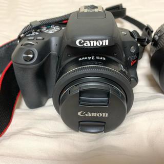 キヤノン(Canon)のcanon eos kiss x9 ダブルズームキット+24mm単焦点レンズ(デジタル一眼)
