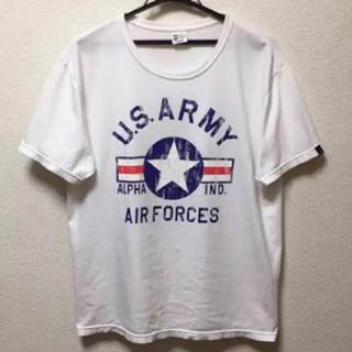 アルファインダストリーズ(ALPHA INDUSTRIES)のALPHA アルファ Tシャツ(Tシャツ/カットソー(半袖/袖なし))