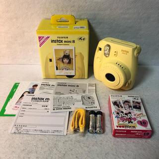 フジフイルム(富士フイルム)の【未使用品】富士フイルム インスタントカメラ チェキ instax mini 8(フィルムカメラ)