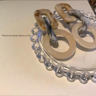 ザラ(ZARA)のmarble pierce(ピアス)