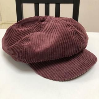 ジーユー(GU)のGU☺︎帽子(キャスケット)