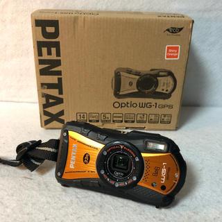 ペンタックス(PENTAX)のGPSモデル PENTAX 防水デジタルカメラ Optio WG-1 GPS(コンパクトデジタルカメラ)