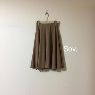 ソブ(Sov.)のSov.可愛いフレアスカート美品❤️おまとめ割SALE開催中(ひざ丈スカート)