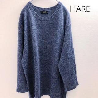 ハレ(HARE)のHARE ニット 七分袖 Mサイズ(ニット/セーター)
