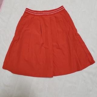 ユニクロ(UNIQLO)の☆ユニクロ☆美品☆オレンジ☆スカート☆(スカート)