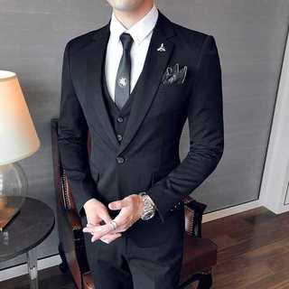 無地 スーツジャケット 紳士 ダブルスーツメンズ セットアップzb359(セットアップ)
