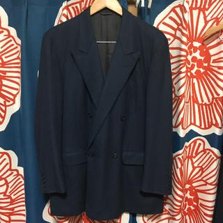 クリスチャンディオール(Christian Dior)の古着 Chrisian Dior ディオール ダブル スーツ セットアップ(セットアップ)