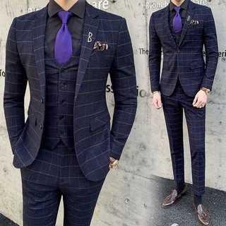 メンズスーツセットアップ大人気エリート仕事ビジネス成人式スリム紳士服 OT054(セットアップ)