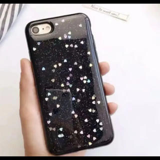 iphone 7ケース、ハート柄ケース