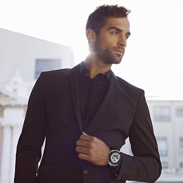 メンズ腕時計 多機能スポーツウォッチ  日本製クォーツ(ホワイト) メンズの時計(腕時計(アナログ))の商品写真