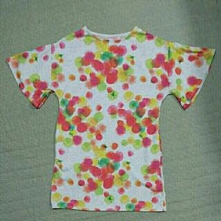 グラニフ(Design Tshirts Store graniph)のgraniph トマト柄レディースチュニック (チュニック)