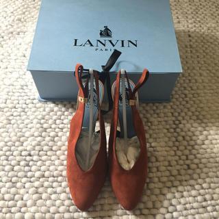 ランバン(LANVIN)の【新品箱付き】ランバン パンプス  38  24cm(ハイヒール/パンプス)
