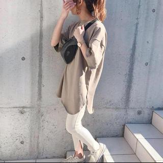 ジーユー(GU)のGU  ヘビーウェイトオーバーサイズT XS(Tシャツ(半袖/袖なし))
