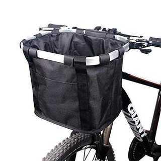 自転車かご カゴ  着脱 小型ペットを入れて可能も可能♪