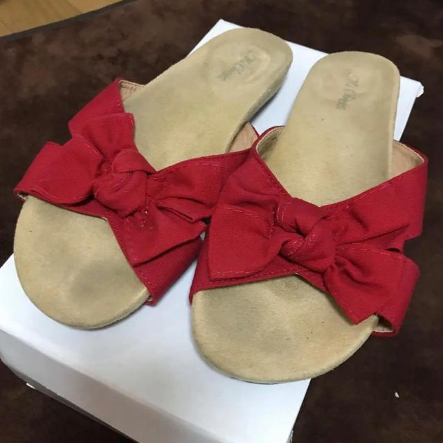 INGNI(イング)のINGNI リボンサンダル 処分価格 近日出品終了 レディースの靴/シューズ(サンダル)の商品写真