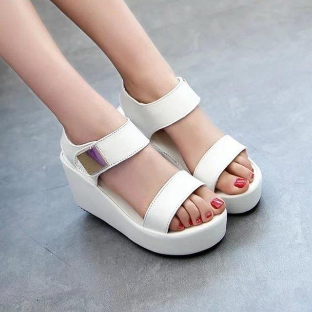 厚底サンダル 靴 シューズ 歩きやすい 春夏 2018 レディースの靴/シューズ(サンダル)の商品写真