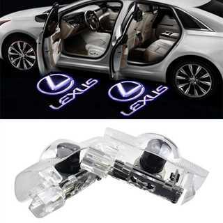 レクサス Lexus ロゴ カーテシライト ゴーストシャドーライト(車内アクセサリ)