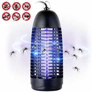QcoQce 電撃殺虫器 蚊取り器 捕虫機 UV光源誘引式(その他 )