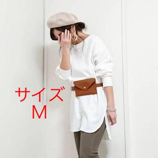 ジーユー(GU)の新品★GU ハニカムロングスリーブT Mサイズ(Tシャツ(長袖/七分))