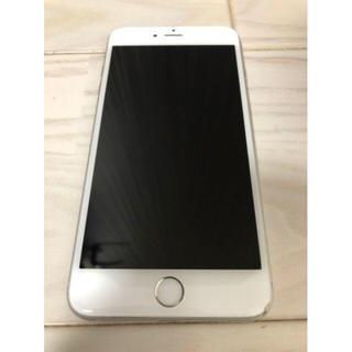 アイフォーン(iPhone)のiPhone 6 Plus silver 16GB au(スマートフォン本体)