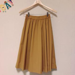 ユニクロ(UNIQLO)の美品 UNIQLO xs スカート スカート(ひざ丈スカート)