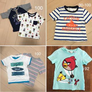 ユニクロ(UNIQLO)のユニクロ& H&M などTシャツ 6点セット【100】(Tシャツ/カットソー)