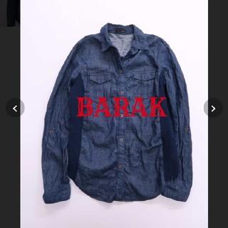 バラク(Barak)の美品 BARAK 切り替えデニムシャツ(シャツ/ブラウス(長袖/七分))