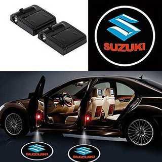 LEDカーテシライト SUZUKI 2個セット(車内アクセサリ)