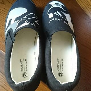 シマムラ(しまむら)のミッキー 靴 Mサイズ(スニーカー)