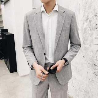 メンズスーツセットアップ大人気エリート細身ビジネス披露宴スリム紳士服 OT040(セットアップ)