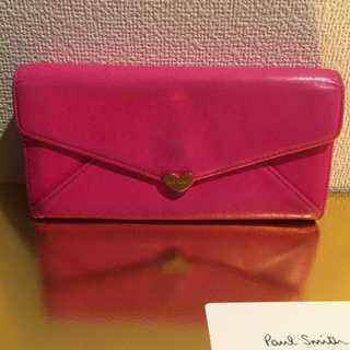 ポールスミス(Paul Smith)の本物 ポールスミス ピンク 長財布 正規品(財布)