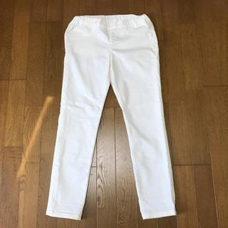 ジーユー(GU)のGU パンツ 白 ホワイト 春 夏 レディース ファッション ジーユー ズボン(カジュアルパンツ)