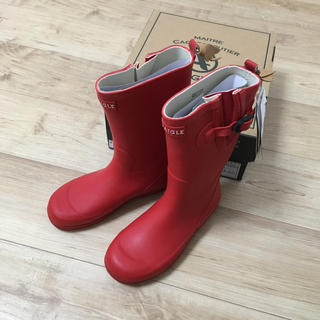 エーグル(AIGLE)の最終値下 新品 エーグル  長靴 レインブーツ キッズ(長靴/レインシューズ)
