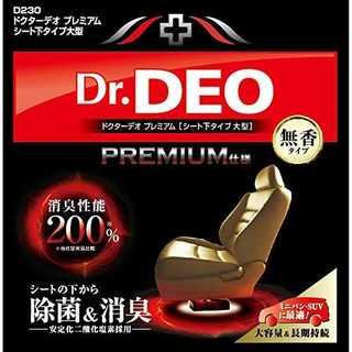カーメイト 車用 除菌消臭剤 ドクターデオ Dr.DEO プレミアム(車内アクセサリ)