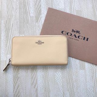 コーチ(COACH)の新品 COACH 長財布 イエロー(財布)