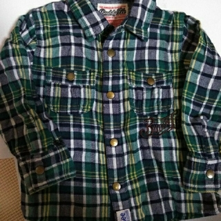 リー(Lee)のキッズ Lee   ボタンシャツ Size90  (Tシャツ/カットソー)