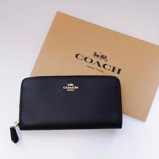 コーチ(COACH)の新品 COACH 長財布 ブラック(財布)