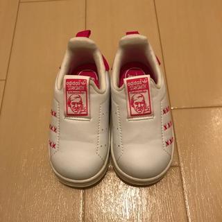 アディダス(adidas)の新品・未使用☆アディダス スタンスミス ベビー 12.0 スリッポン(スニーカー)