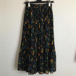 フラワー(flower)のflutter flower skirt ~フラッターフラワースカート(ロングスカート)