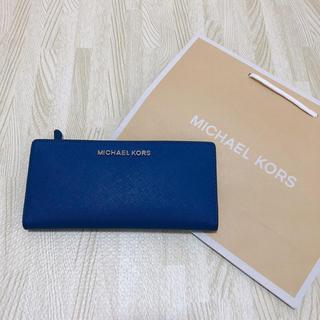 マイケルコース(Michael Kors)の新品未使用 マイケルコース  Michael Kors ブルー(財布)